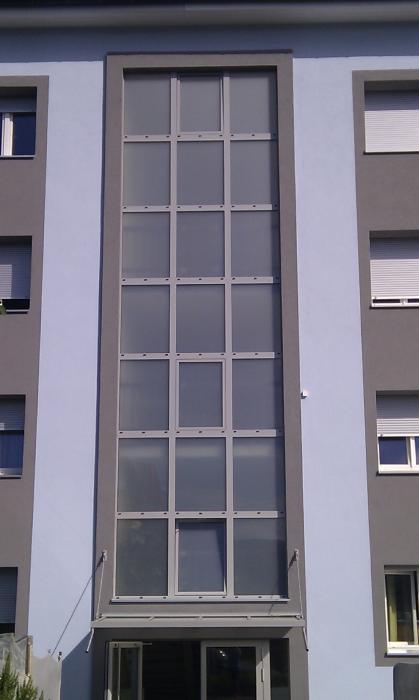 fen tres en aluminium isol es is 4 m tal news s rl. Black Bedroom Furniture Sets. Home Design Ideas